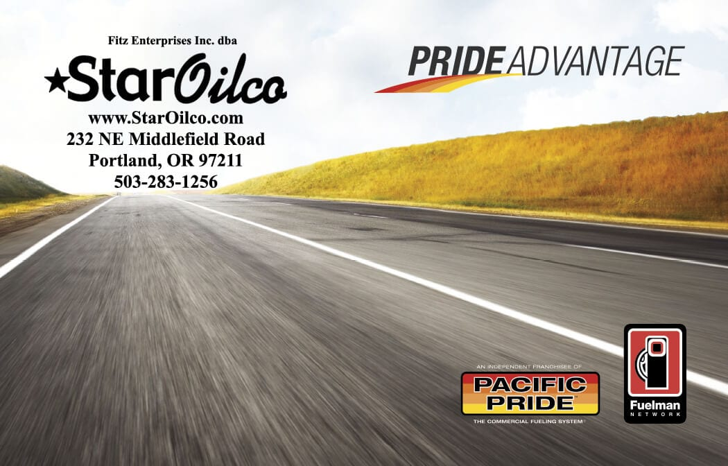 Pacific Pride Oregon and Washington | Star Oilco