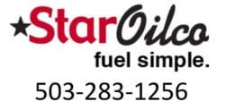 Star Oilco Logo with Phone number