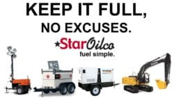 Construction Jobsite Diesel Fueling service in Oregon and Washington