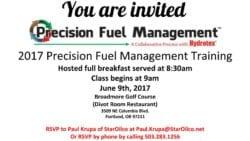 Precision Fuel Management Training Invitation