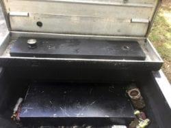 Stolen Fuel slip tank