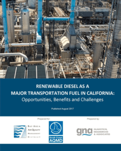 Renewable Diesel as a Major Transportation Fuel White Paper