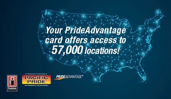 Pacific Pride Fuel Network Graphic