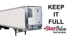 Reefer trailer fuel service