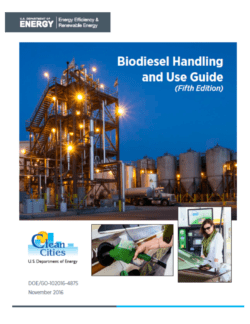 Biodiesel users manual for fleets