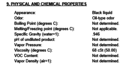 Bunker Fuel Properties