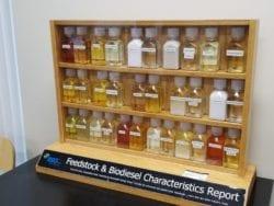Bio-diesel and Feed-stock samples at REG