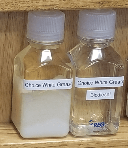 Choice White Grease and Bio-diesel sample