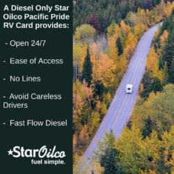 Why a Star Oilco Pacific Pride RV Card?