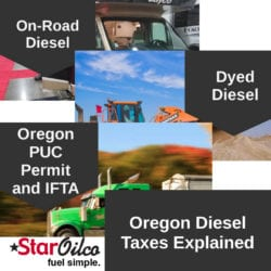 Oregon Diesel Taxes Explained
