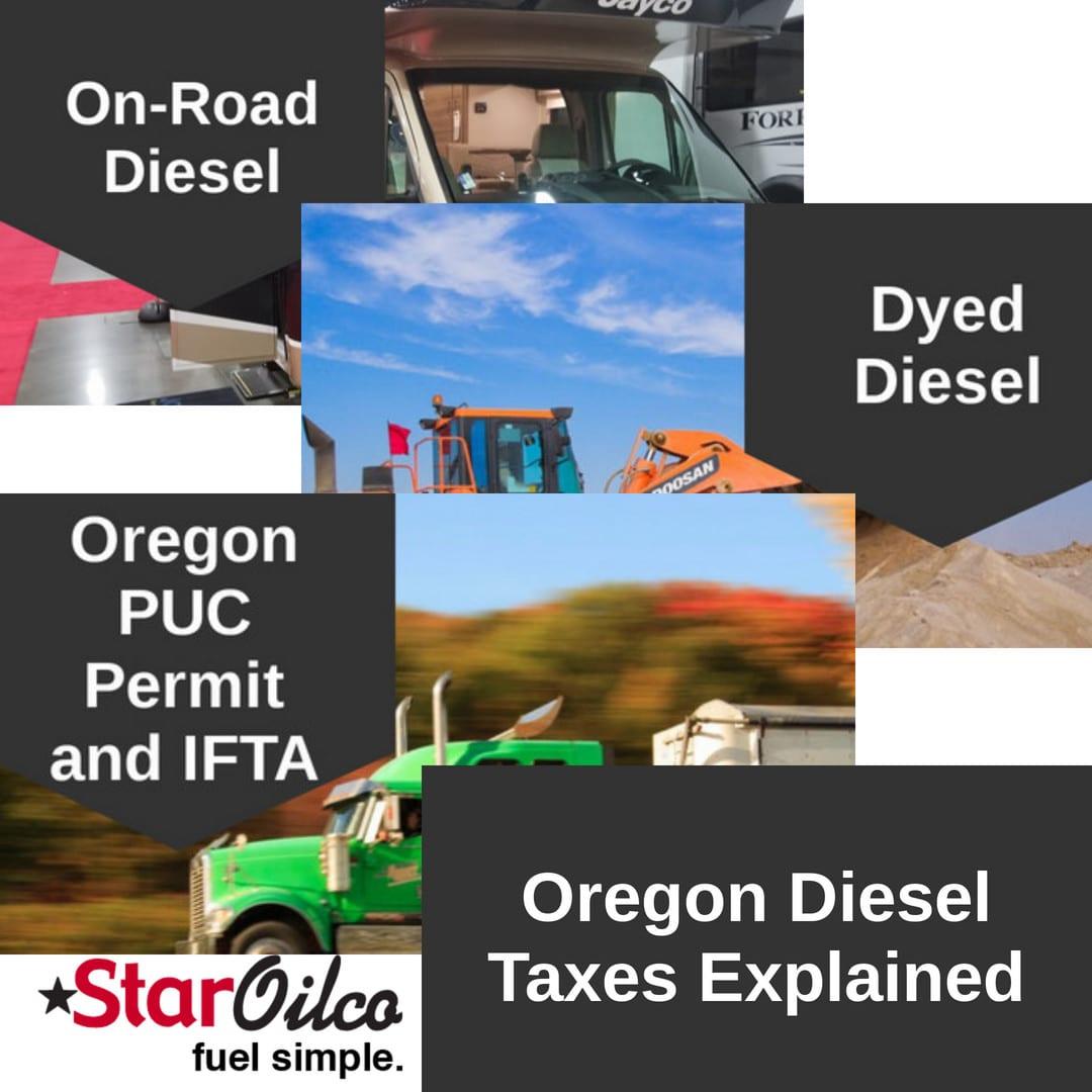Oregon Diesel Taxes Explained | Star Oilco