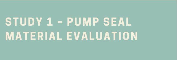 Bio Diesel and Pump Seal Material Evaluation